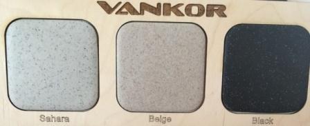 Кухонная мойка VANKOR Norton NMP01.63 630×510