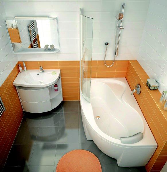 Шкафчик для раковины Ravak SDU Rosa Comfort L 78x50x68, корп белый / белый