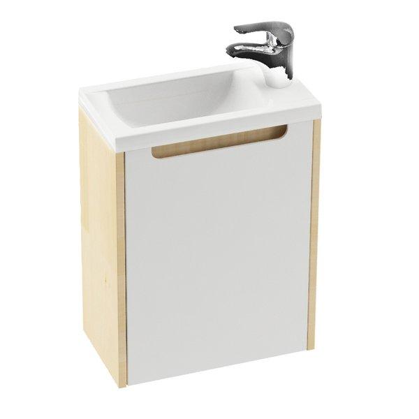 Шкафчик для раковины Ravak SD Classic 400 40х22х50, белая