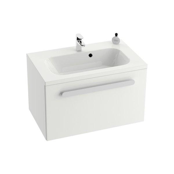 Шкафчик для раковины Ravak SD Chrome 600, 60х47х49, белый / белый