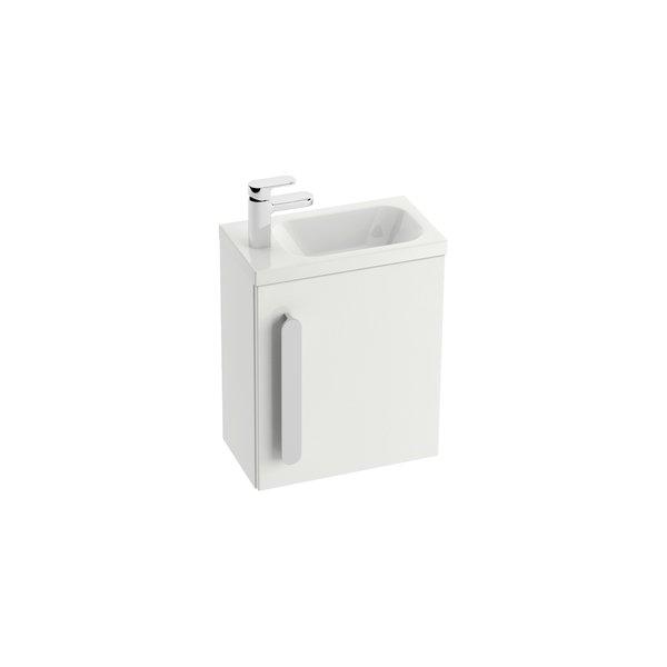 Шкафчик для раковины Ravak SD Chrome 400, 40х22х50, белая