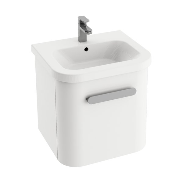 Шкафчик для раковины Ravak SD Chrome 550, 51,5х45х45, белая