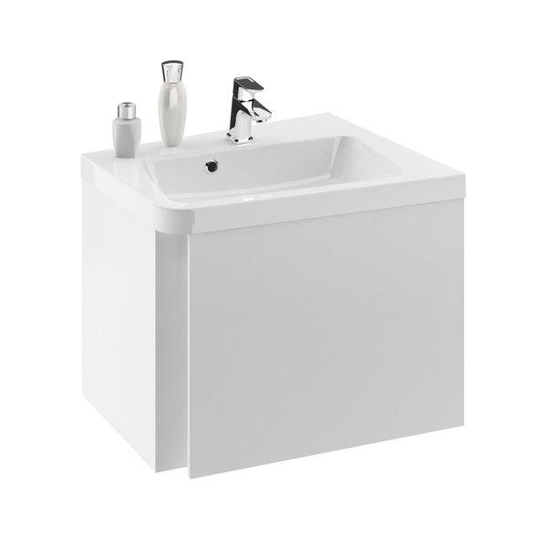Шкафчик для раковины SD Ravak 10 650, 65х53,5х45, R, белая