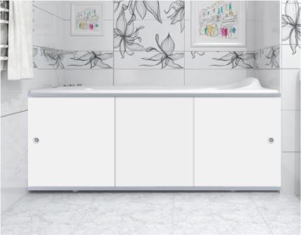 Экран под ванну Метакам торцевой Премиум А, белый, 70 см