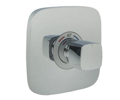 Верхняя часть смесителя с термостатом для душа HANSGROHE Ecostat E (15705000)