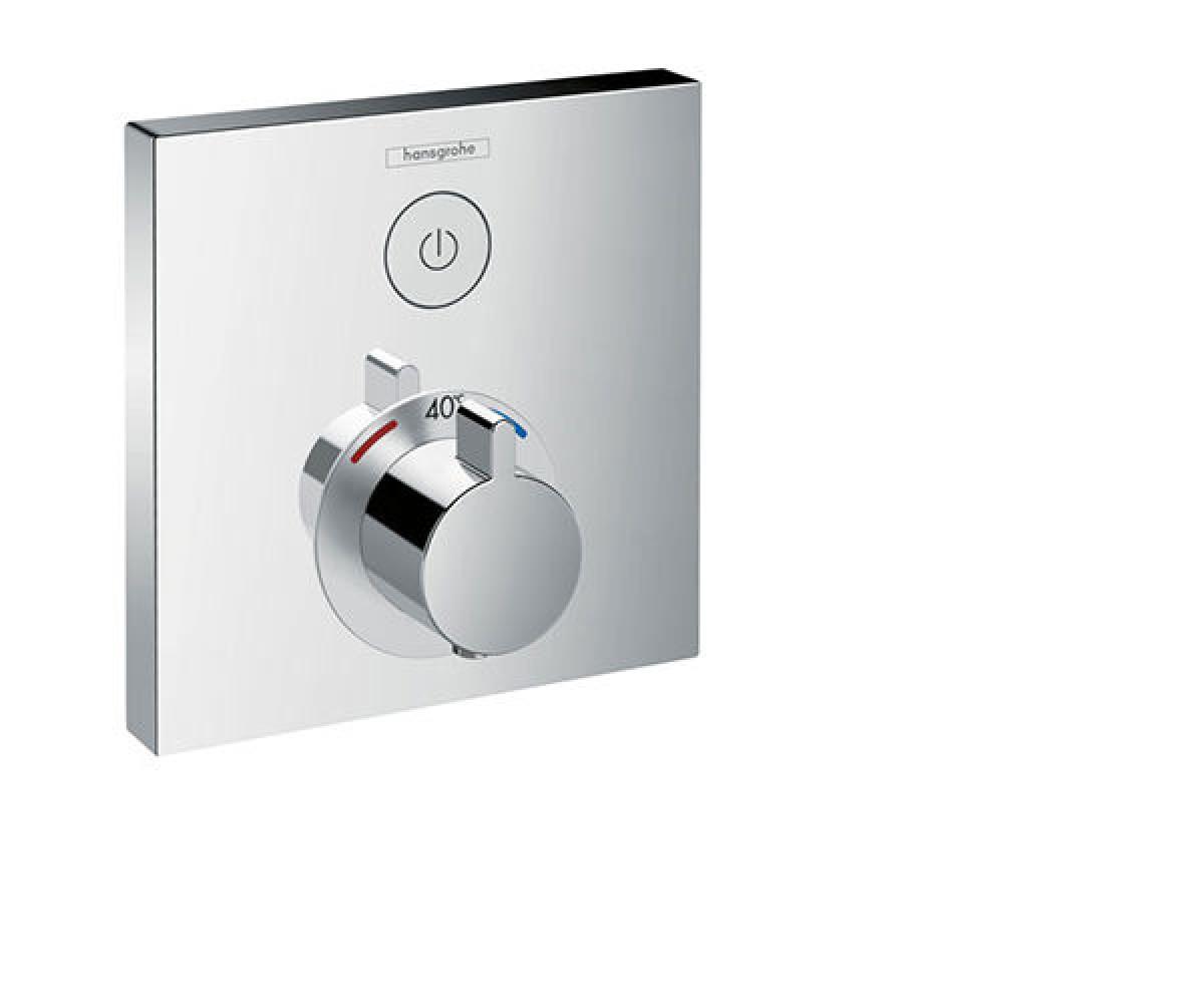 Верхняя часть смесителя с термостатом для душа HANSGROHE ShowerSelect (15762000)