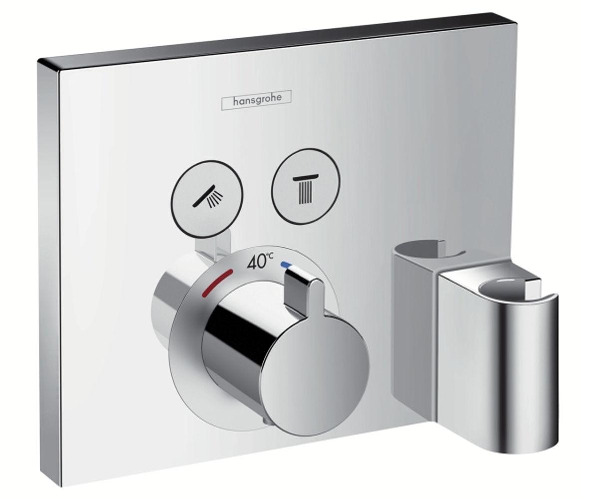 Верхняя часть смесителя с термостатом для душа HANSGROHE Shower Select (15765000)