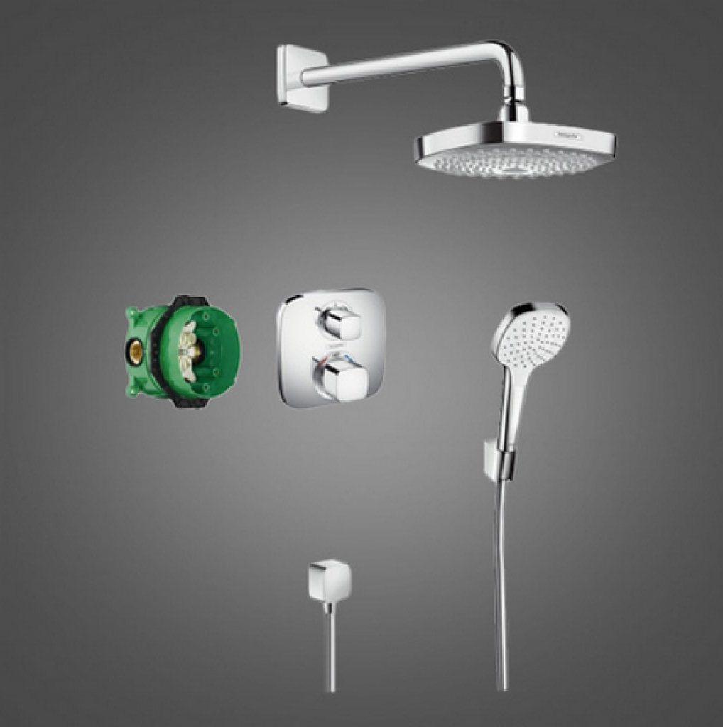 Душевой гарнитур HANSGROHE Croma Select E SET (27294000)