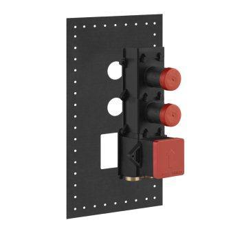 Встраиваемый механизм термостата смесителя на 2 выхода GESSI PRIVATE WELLNESS (24997-031)