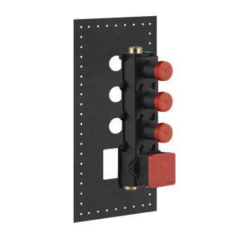 Встраиваемый механизм термостата смесителя на 3 выхода GESSI PRIVATE WELLNESS (43105-031)
