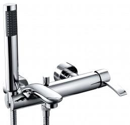 Смеситель Armatura MALACHIT однорычажный для ванны с ручным душем