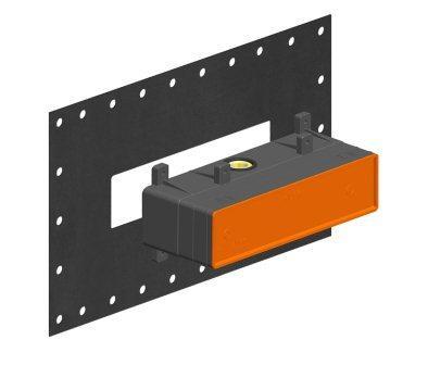 Встроенная часть смесителя на 2 выхода GESSI (44639-031)
