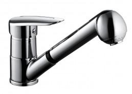 Змішувач Armatura SALIT змішувач для мийки з висувним виливом, L = 205 мм