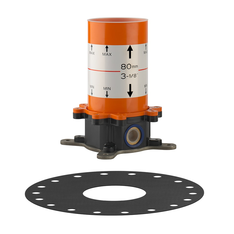 Встроенная часть смесителя для ванны GESSI (44112-031)