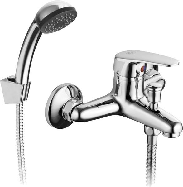 Смеситель Armatura ECOKRAN однорычажный для ванны с душем, L = 156 мм (ручка Atut)
