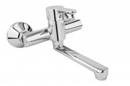 Змішувач Armatura GRANAT змішувач для умивальника з поворотним виливом, L = 150 мм