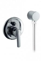 Змішувач Armatura RUBIN для ванни прихованого монтажу (важіль: хром-сатин)