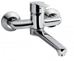 Змішувач Armatura CYRKON змішувач настінний для мийки та умивальника (ручка хром)