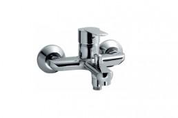 Смеситель Armatura CYRKON однорычажный настенный для ванны, L = 163 мм (ручка хром-сатин)