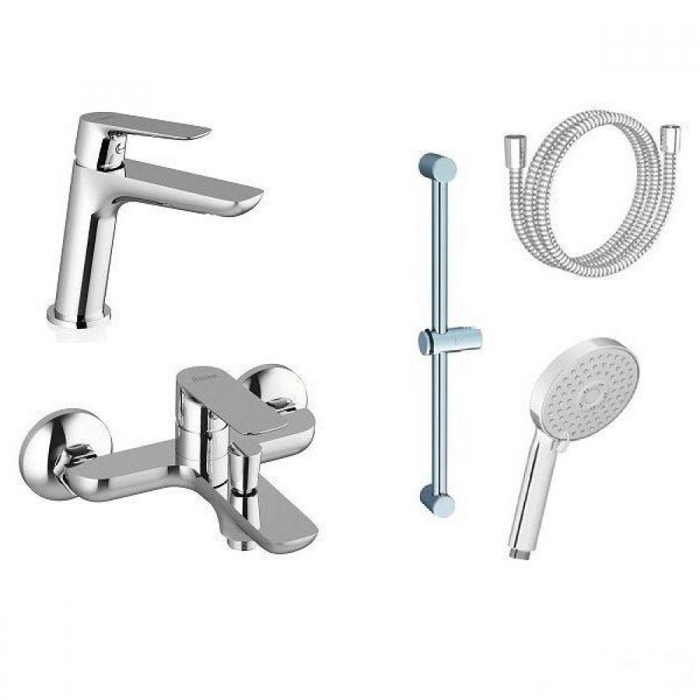Набор смесителей для ванны Ravak Classic 5в1 CL 022 (70320254)