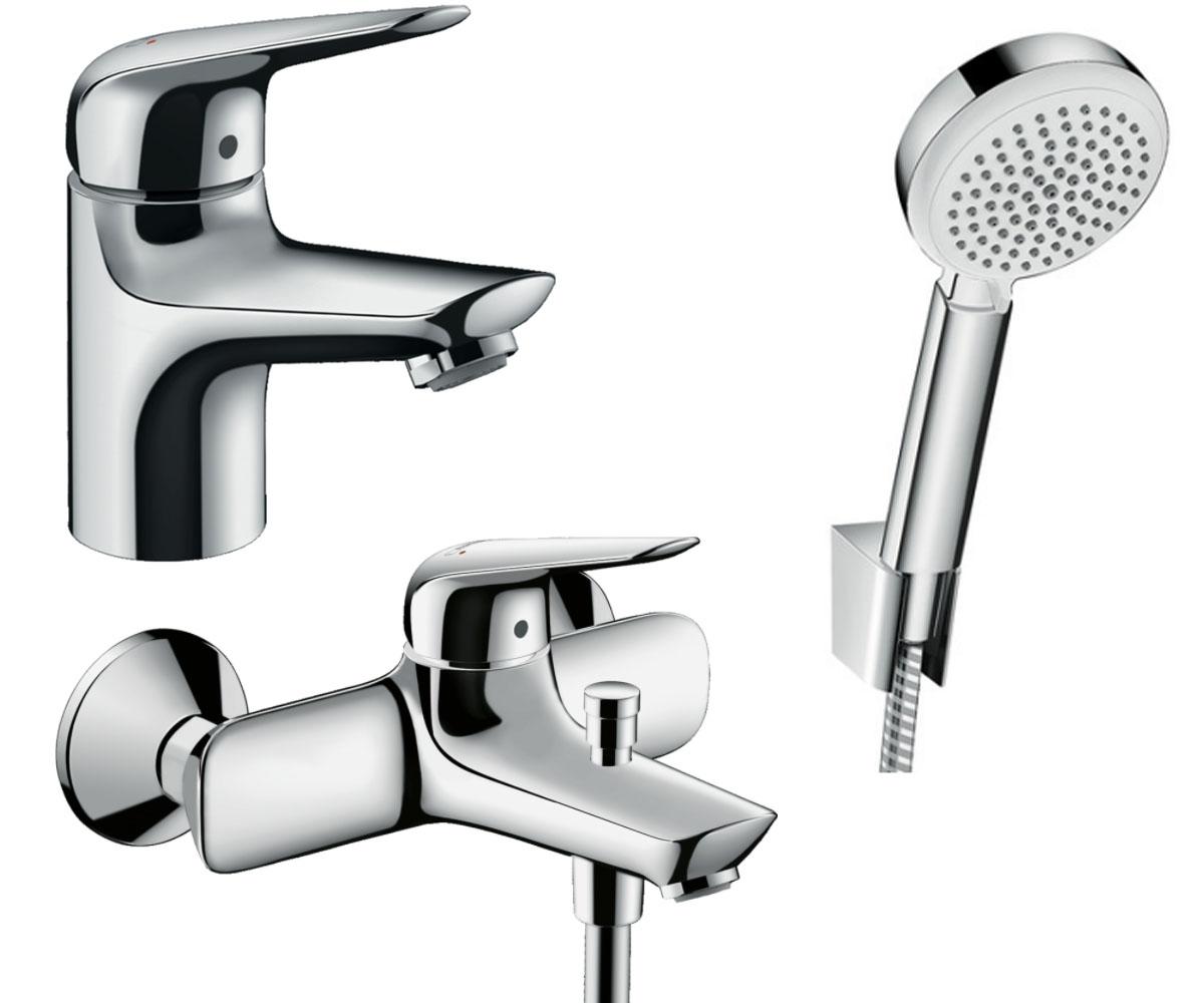 Набор смесителей для ванны 3 в 1 HANSGROHE Novus 70 (710242663)