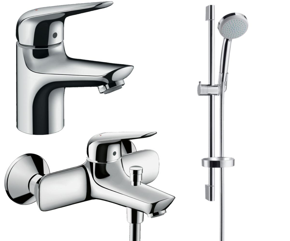 Набор смесителей для ванны 3 в 1 HANSGROHE Novus 70 (710242773)