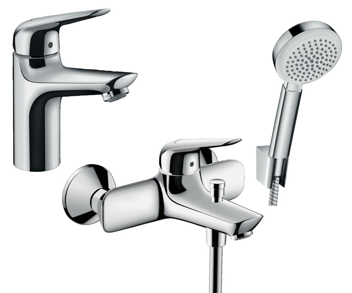 Набор смесителей для ванны 3 в 1 HANSGROHE Novus 100 (710342663)