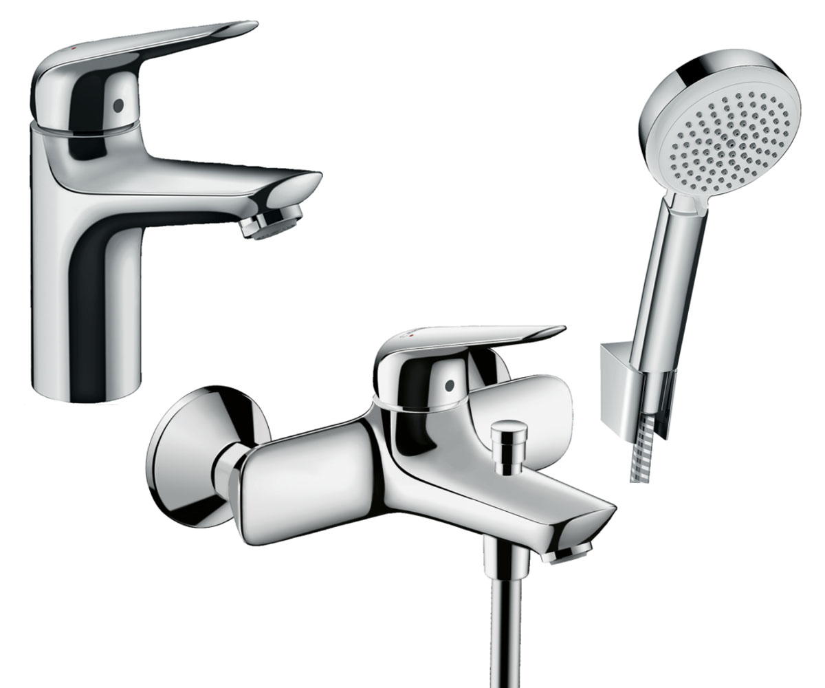 Набор смесителей для ванны 5 в 1 HANSGROHE Novus 100 (710342665)