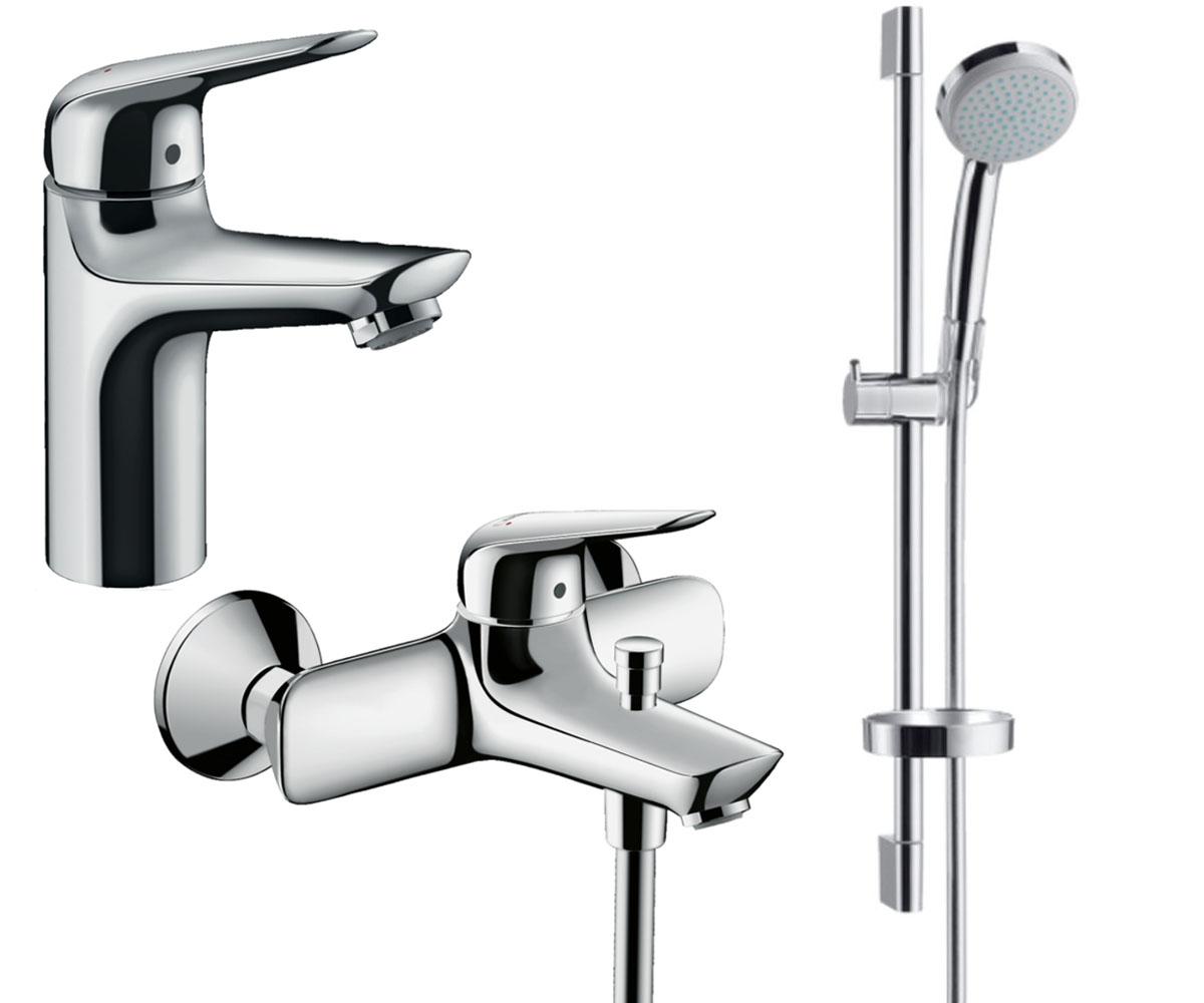 Набор смесителей для ванны 3 в 1 HANSGROHE Novus 100 (710342773)