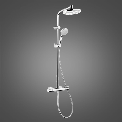 Душевая система с термостатом Hansgrohe Showerpipe Verso 220 27237000