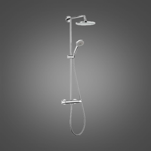 Душова система з термостатом Hansgrohe Showerpipe Verso 240 27205000