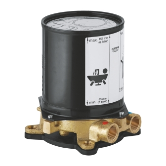 Монтажный комплект смесителя для ванны Grohe Grandera 45984001