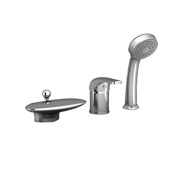 Смеситель Ravak Rosa для ванны, врезной, X07P003