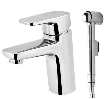 Змішувач для умивальника з гігієнічним душем Am.PM Spirit F7003000