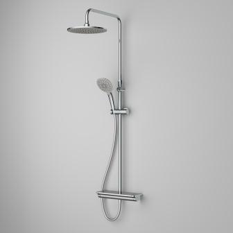 Душевая система Am.PM Spirit V2.1 (смеситель для душа с термост., верхн.душ, ручн.душ)F0770A400
