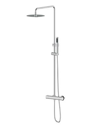 Душевая система Imprese CENTRUM (смеситель-термостат для душа, верхний и ручной душ 1режим, шланг полимер) Т-15410