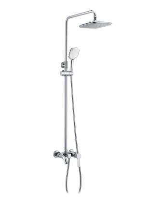 Душевая система Imprese BILA DESNE (смеситель для ванны, верхний и ручной душ 3 режима, шланг 1,5м) T-10155