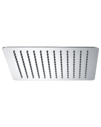 Верхний душ Imprese 300х300 мм, 2 мм, сталь SQ300SS2
