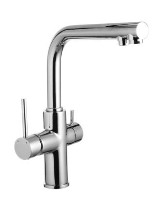 Смеситель Imprese DAICY для кухни однорычажный с подключением питьевой воды 55009-F