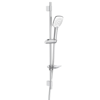 Штанга душевая Imprese L-80см, ручной душ 3 режима,шланг, мыльница 8001073