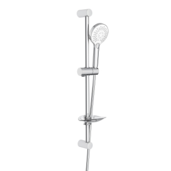 Штанга душевая Imprese L-66см, ручной душ 3 режима,шланг, мыльница 6601103