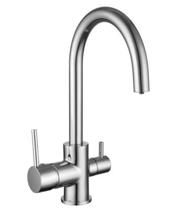 Смеситель Imprese DAICY-U для кухни с подключением питьевой воды, хром 55009-U