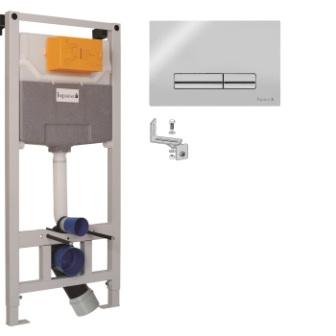 Комплект інсталяції 3в1 Imprese (PANI хром) i9120