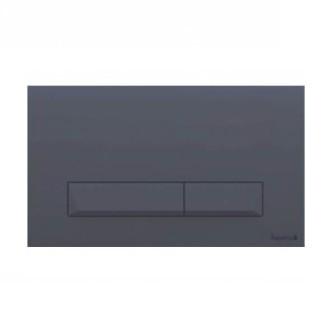 Кнопка змиву Imprese PAN Laska Black Soft Touch клавіша змиву i8040В