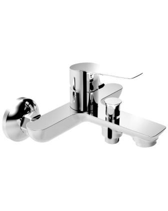 Смеситель Imprese KUCERA для ванны, хром 35мм 10105