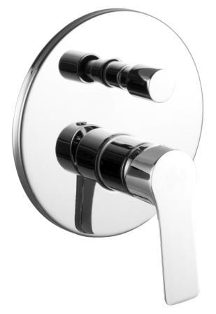 Змішувач Imprese KUCERA прихованого монтажу для ванн VR-31105