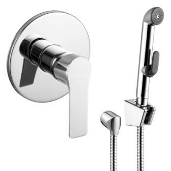 Смеситель Imprese KUCERA (смеситель скрытого монтажа с гигиеническим душем) VR30105Z-BT