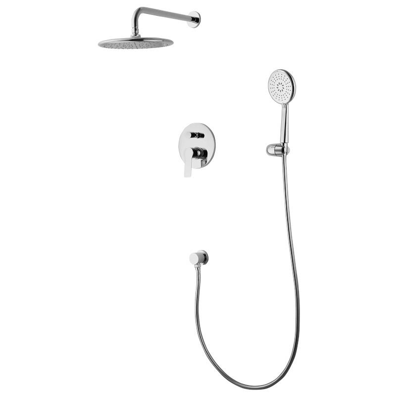 Комплект Imprese KUCERA для ванны/душа (смес.с переключ.,верхн.душ, ручной душ,шланг, шланг. Подсоед) VR-50105