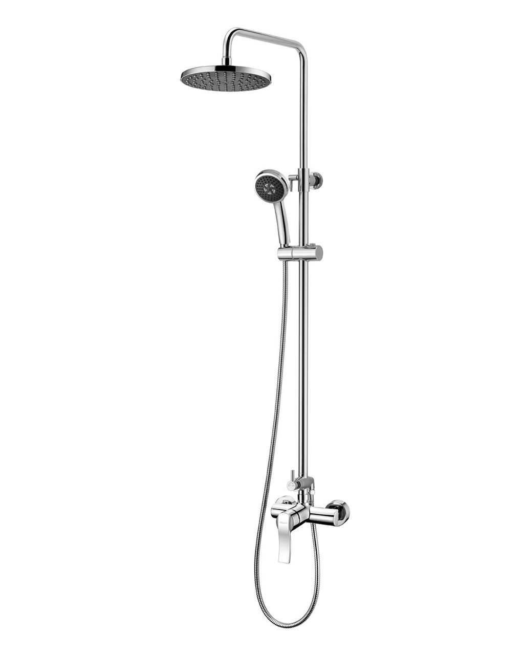 Смеситель Imprese NOVA VLNA (смеситель для душа, верхний и ручной душ, 3 режима, шланг 1,5м) T-15135