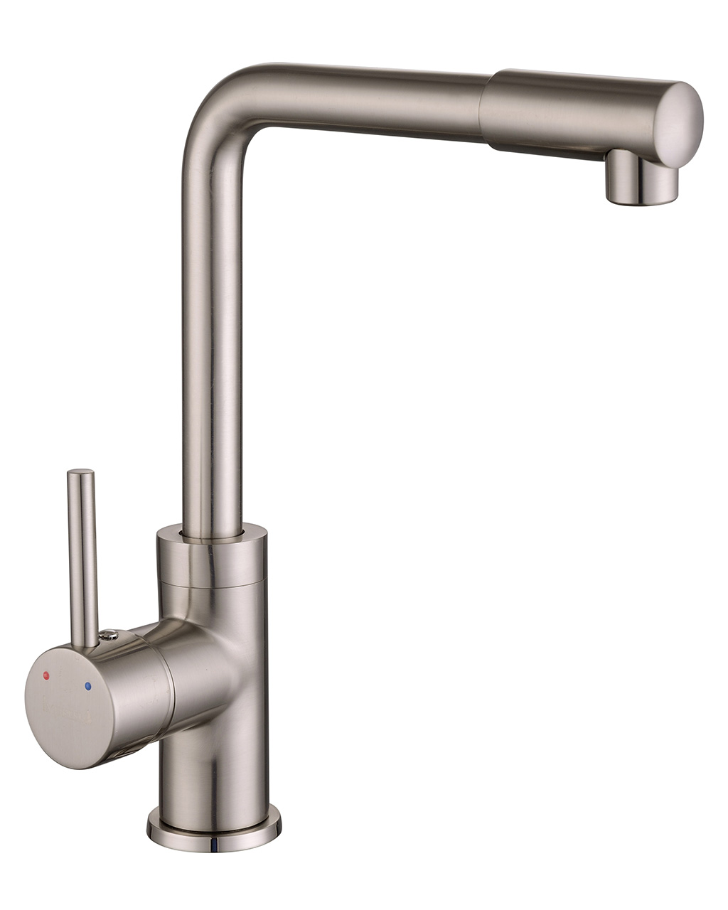 Змішувач Imprese LOTTA для кухні, високий ніс, сатин, 35 мм 55400